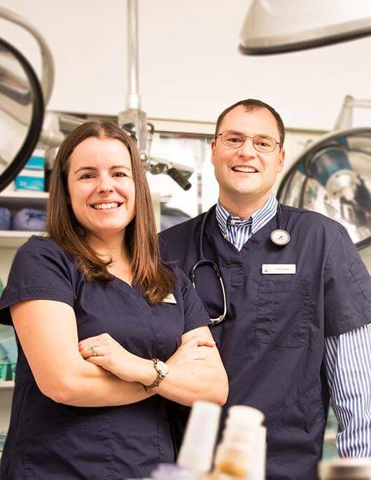 Drs. Bethany and Craig Adams